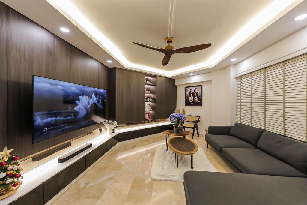 Modern, HDB, Living Room, Boon Lay, Interior Designer, Swiss Interior Design