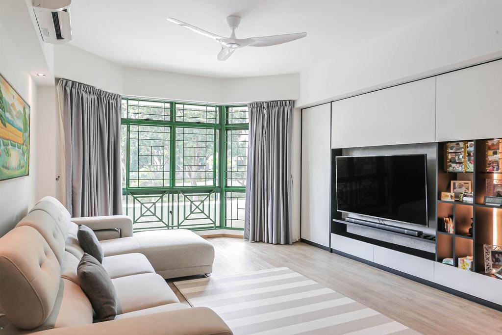 Modern, Condo, Living Room, Signature Park, Interior Designer, Swiss Interior Design, Scandinavian