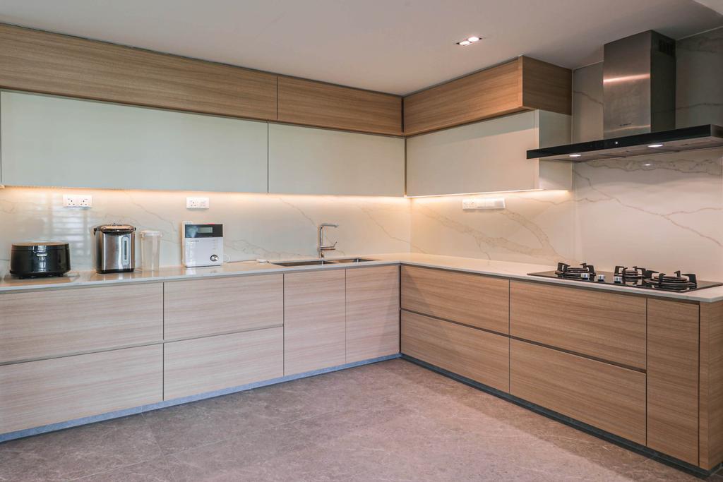 Modern, Condo, Kitchen, Signature Park, Interior Designer, Swiss Interior Design, Scandinavian