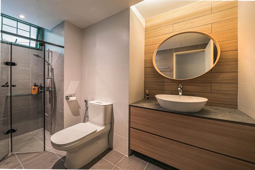 Modern, Condo, Bathroom, Signature Park, Interior Designer, Swiss Interior Design, Scandinavian