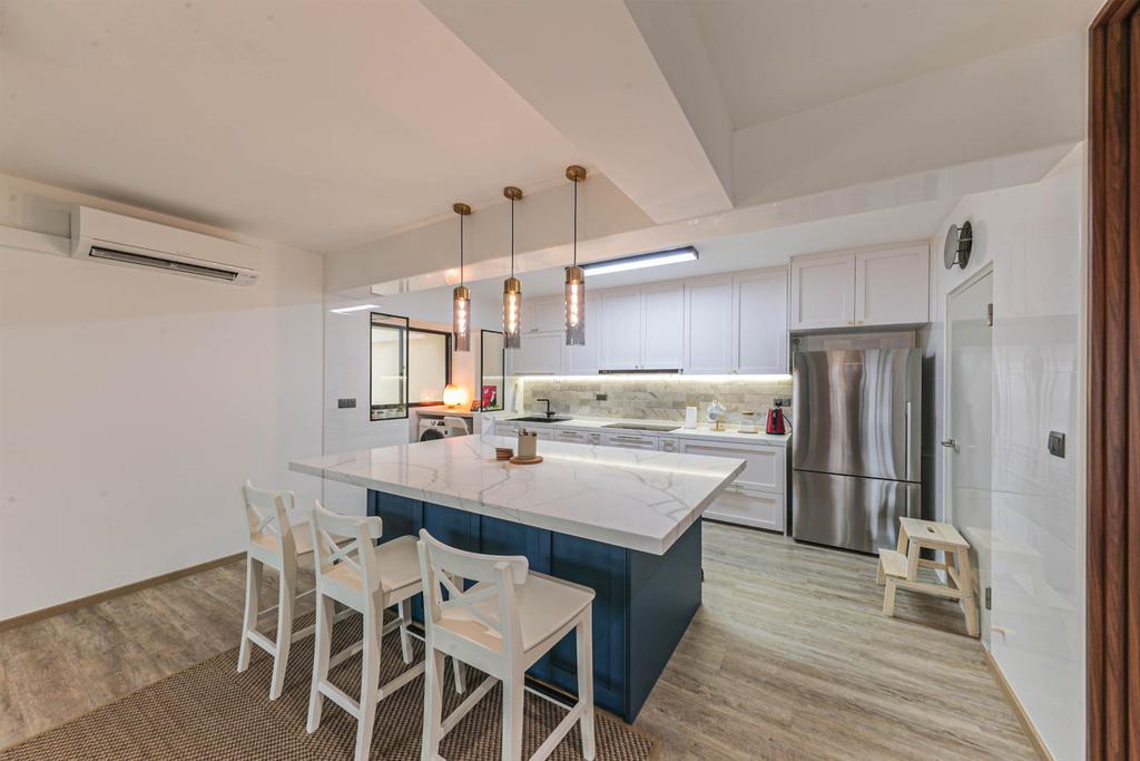 Modern, HDB, Dining Room, West Plains @ Bukit Batok, Interior Designer, Swiss Interior Design, Scandinavian