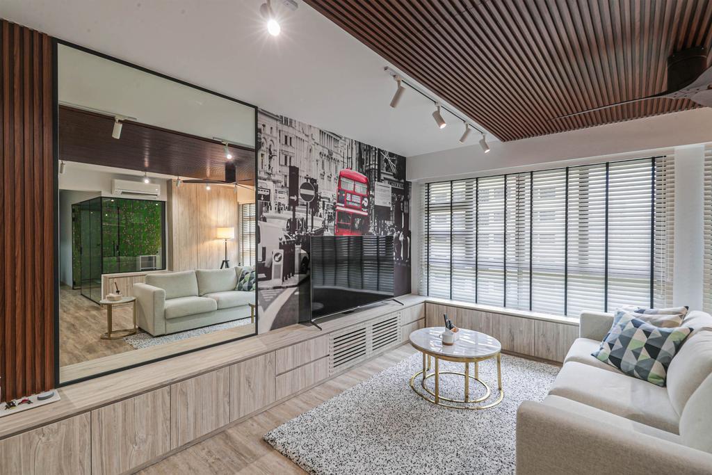 Modern, HDB, Living Room, West Plains @ Bukit Batok, Interior Designer, Swiss Interior Design, Scandinavian