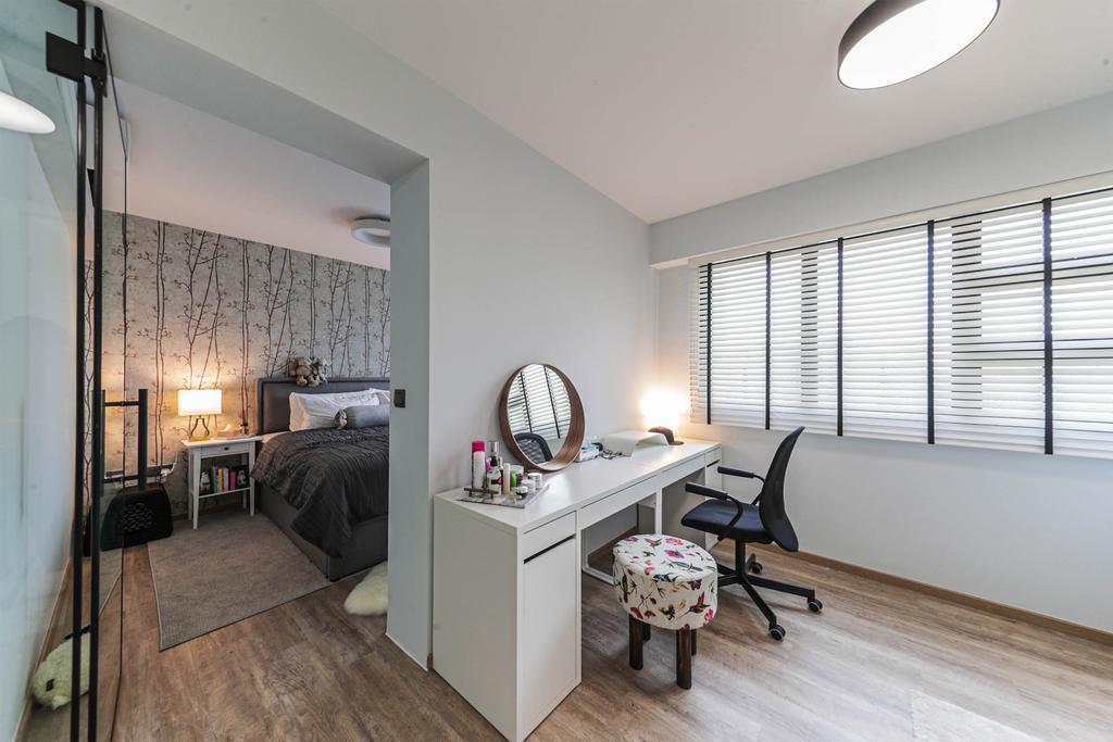 Modern, HDB, Bedroom, West Plains @ Bukit Batok, Interior Designer, Swiss Interior Design, Scandinavian