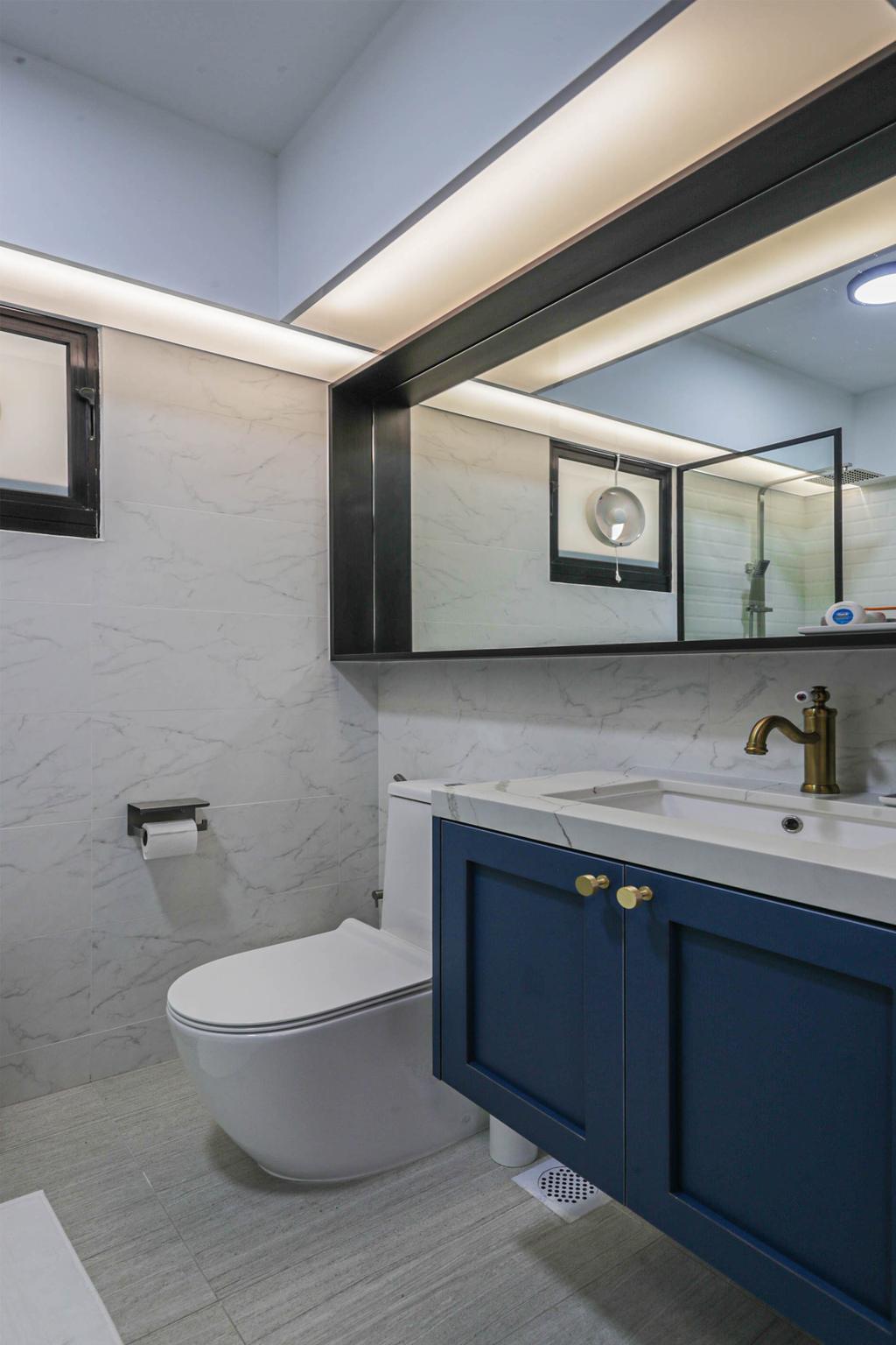 Modern, HDB, Bathroom, West Plains @ Bukit Batok, Interior Designer, Swiss Interior Design, Scandinavian
