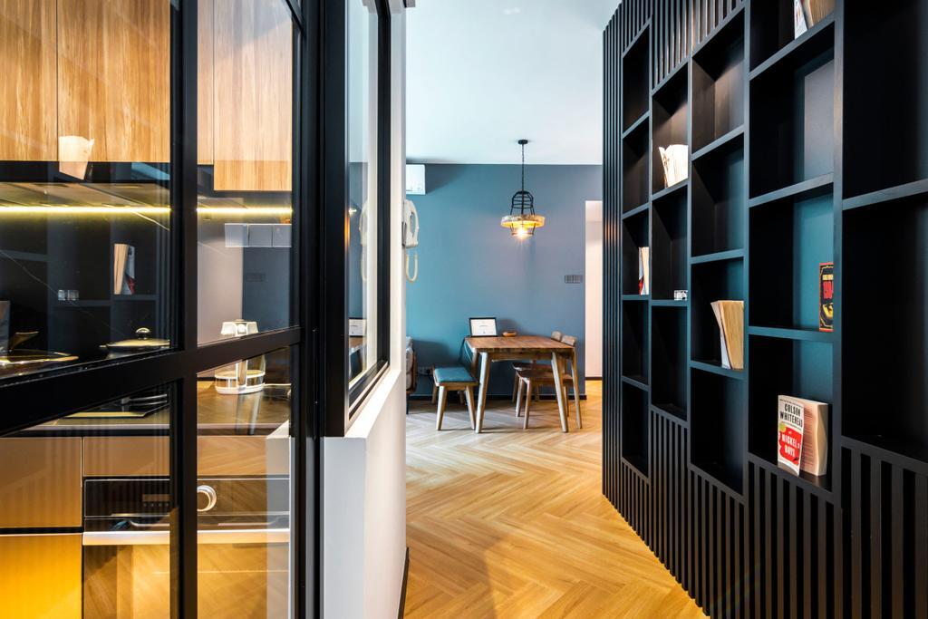 Modern, Condo, Kitchen, Cote D'Azur, Interior Designer, 9 Creation, Contemporary