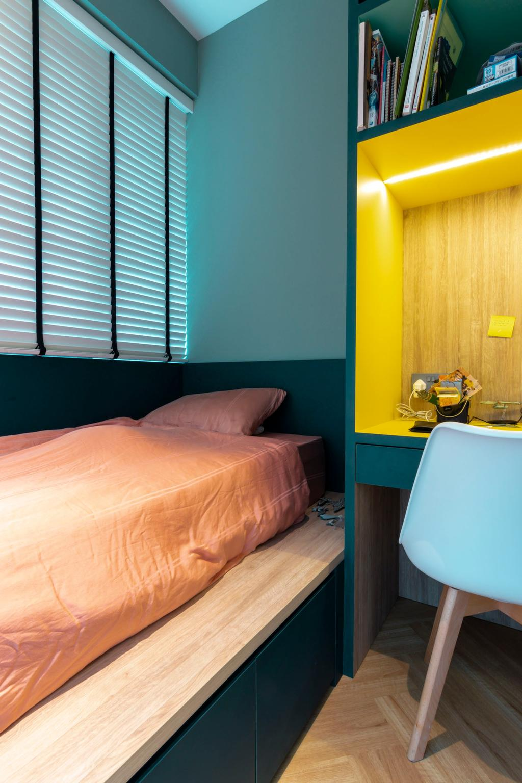 Modern, Condo, Bedroom, Cote D'Azur, Interior Designer, 9 Creation, Contemporary