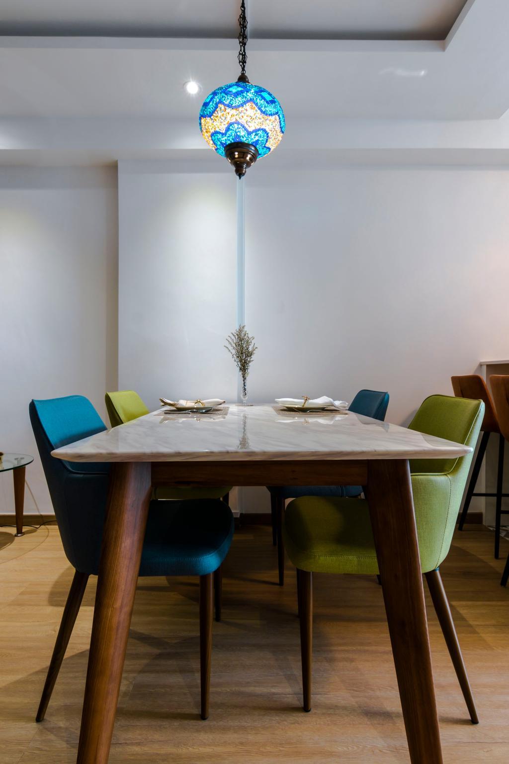 Vintage, HDB, Dining Room, Tampines Street 41, Interior Designer, 9 Creation