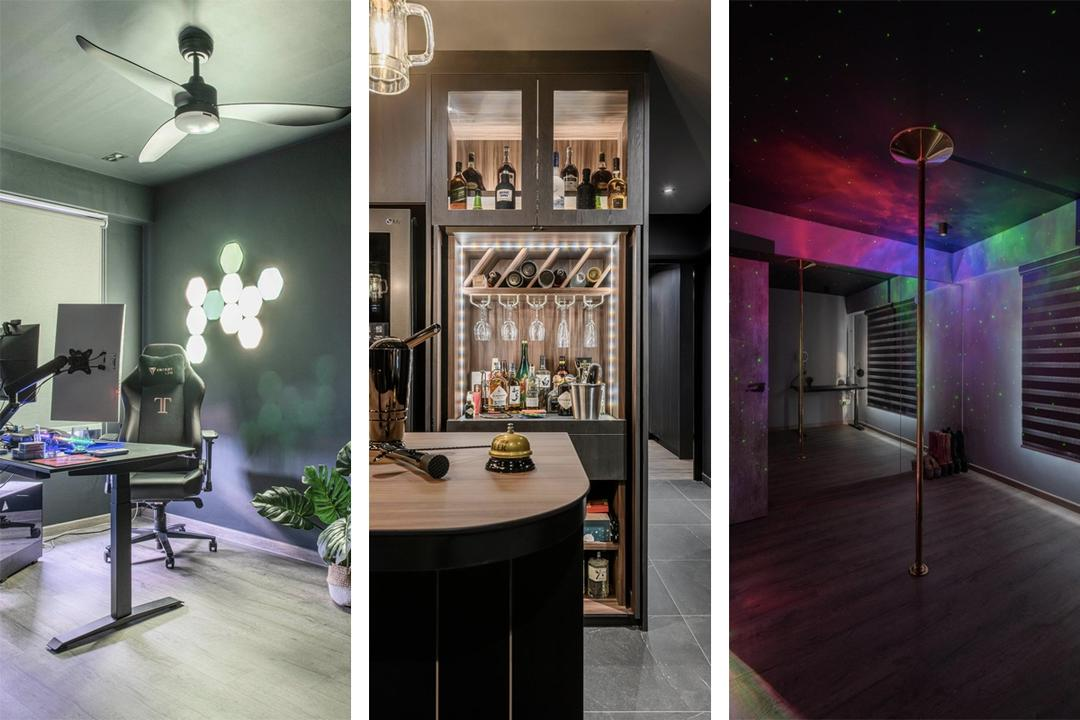 5-Room Flat Turned Into 'Siam Diu' with Bar and Dance Studio 26