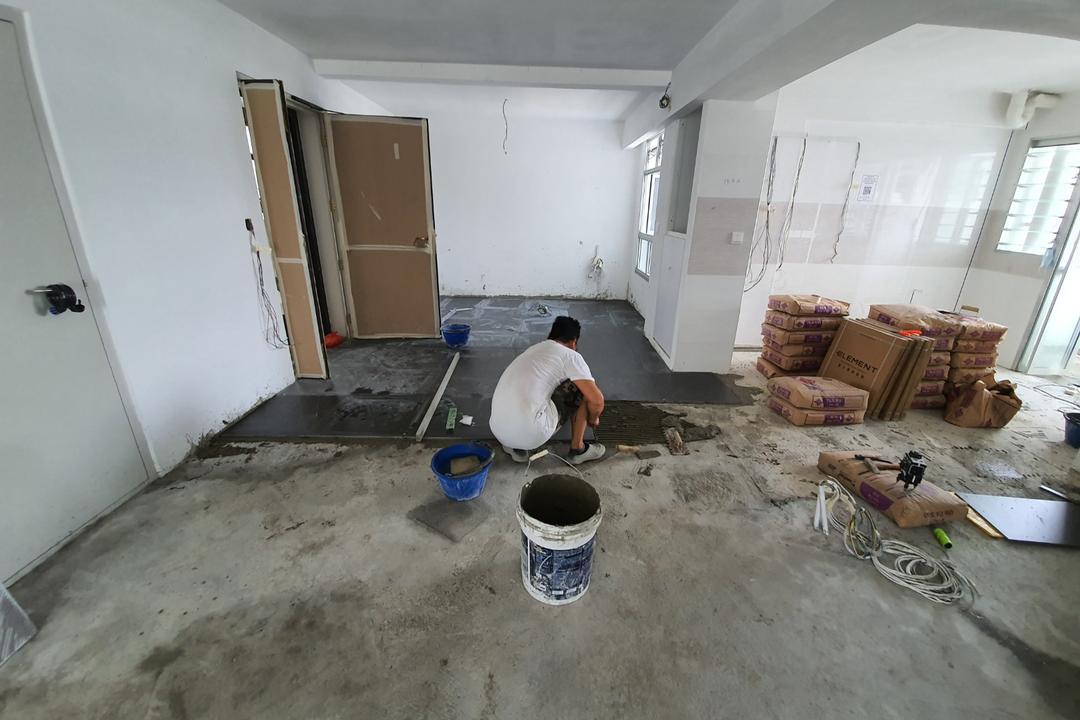 northshore drive BTO flat renovation