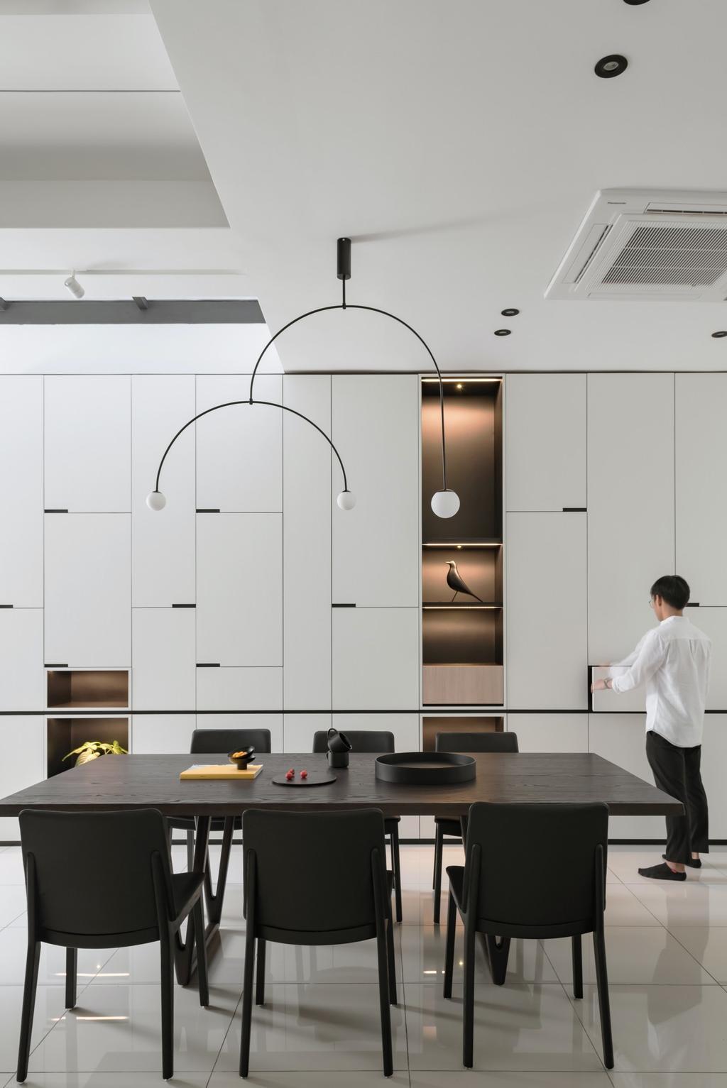 Modern, Landed, Puchong South, Selangor, Interior Designer, PINS Studio, Contemporary
