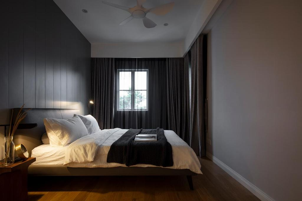 Scandinavian, Condo, Bedroom, Bangsar South, WP Kuala Lumpur, Interior Designer, Wuuu Studio