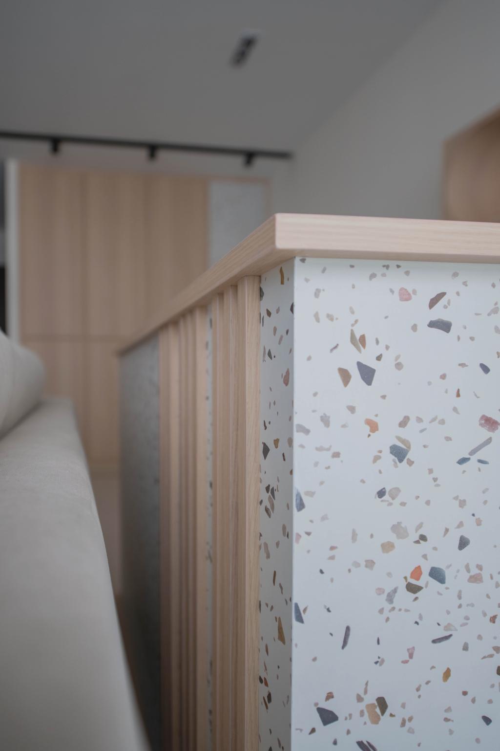 Contemporary, HDB, Dining Room, Canberra Street, Interior Designer, Urban Home Design 二本設計家, Scandinavian