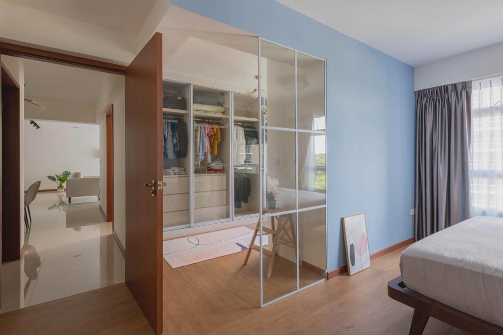 Contemporary, HDB, Canberra Street, Interior Designer, Urban Home Design 二本設計家, Scandinavian