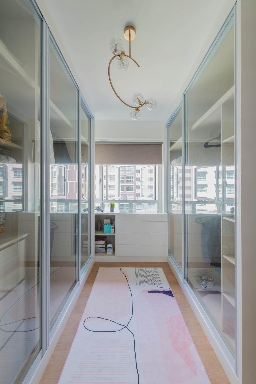 Contemporary, HDB, Bedroom, Canberra Street, Interior Designer, Urban Home Design 二本設計家, Scandinavian