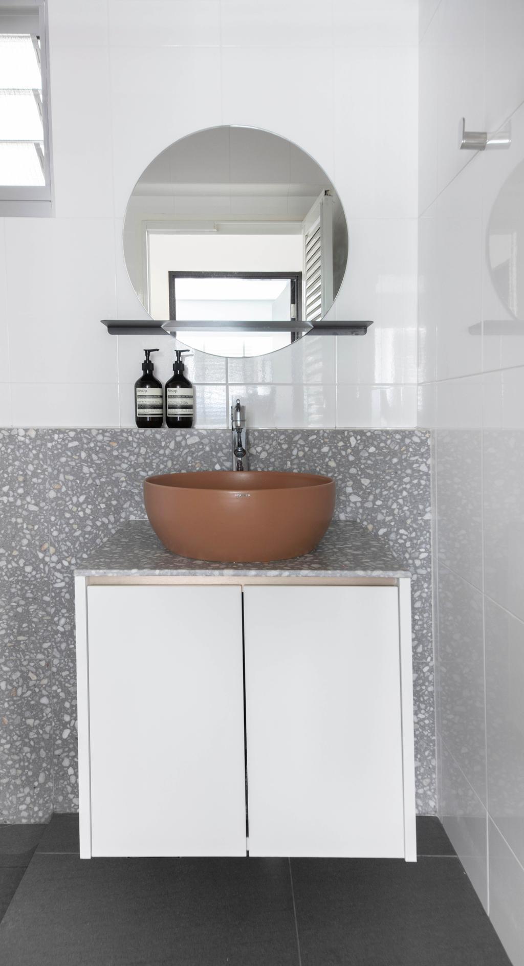Contemporary, HDB, Bathroom, St George's Road, Interior Designer, KDOT