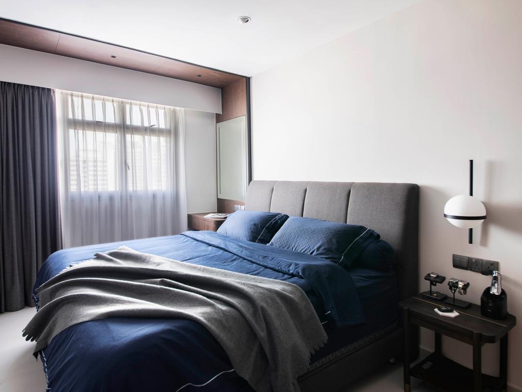 Contemporary, HDB, Bedroom, St George's Road, Interior Designer, KDOT