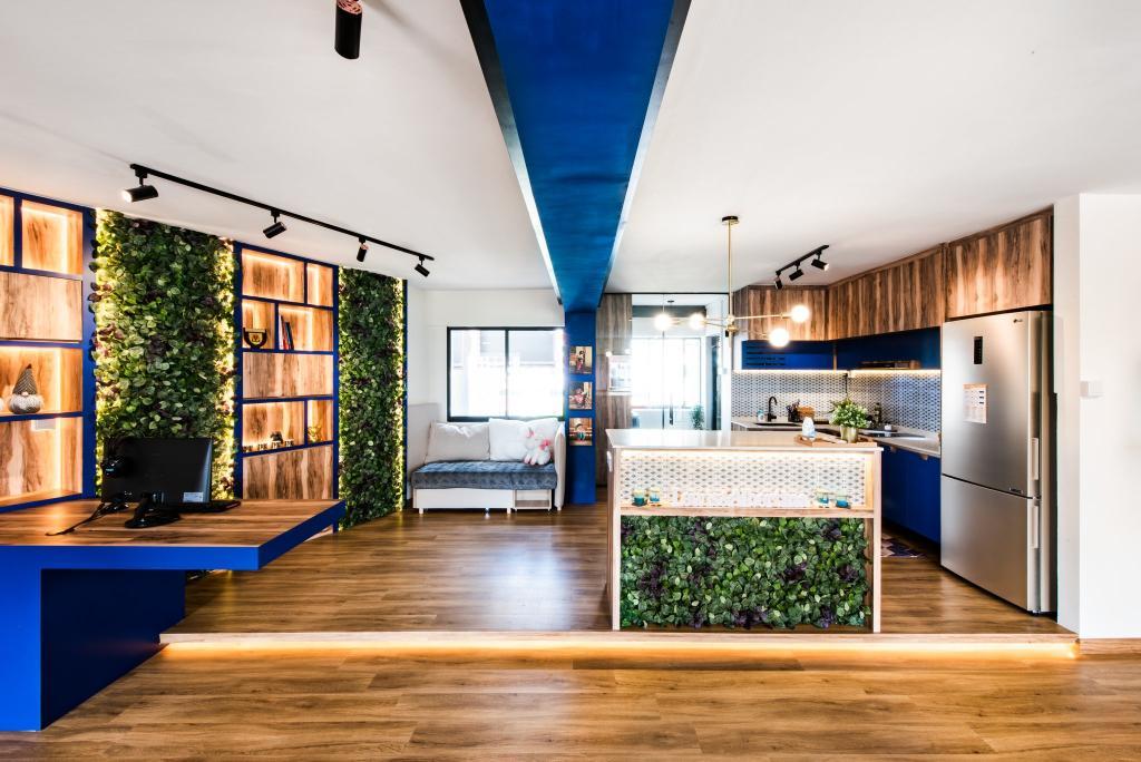Contemporary, HDB, Kitchen, Hougang Avenue 10, Interior Designer, Mr Designer Studio