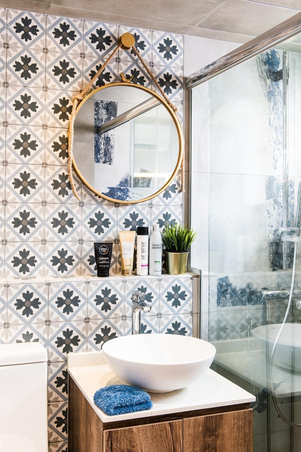 Contemporary, HDB, Bathroom, Hougang Avenue 10, Interior Designer, Mr Designer Studio