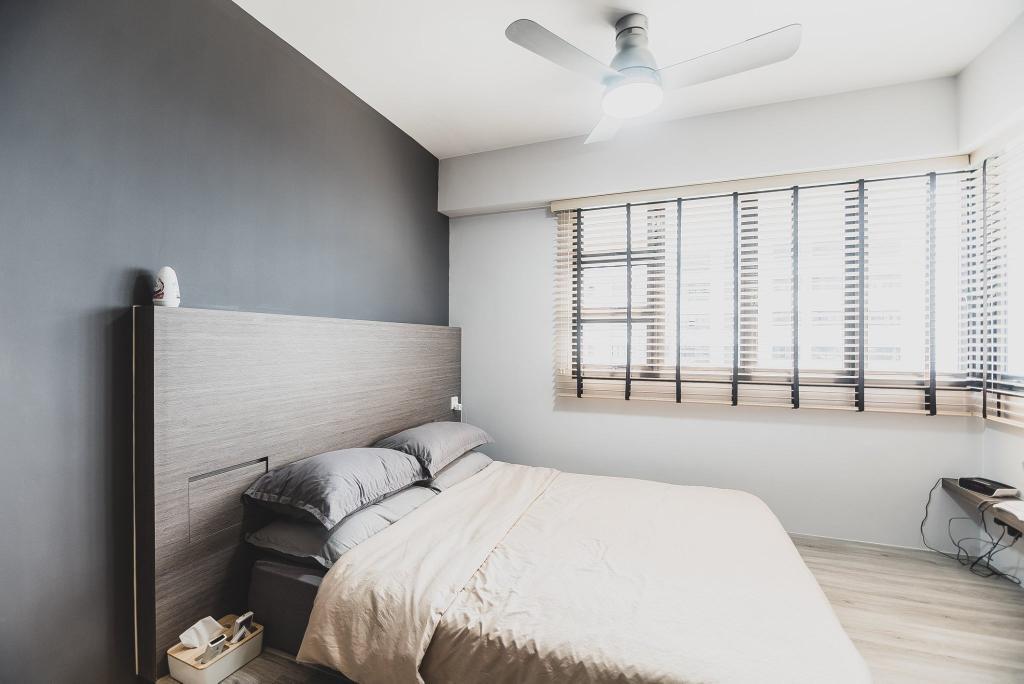 Modern, HDB, Bedroom, Tampines Street 61, Interior Designer, Mr Designer Studio, Scandinavian