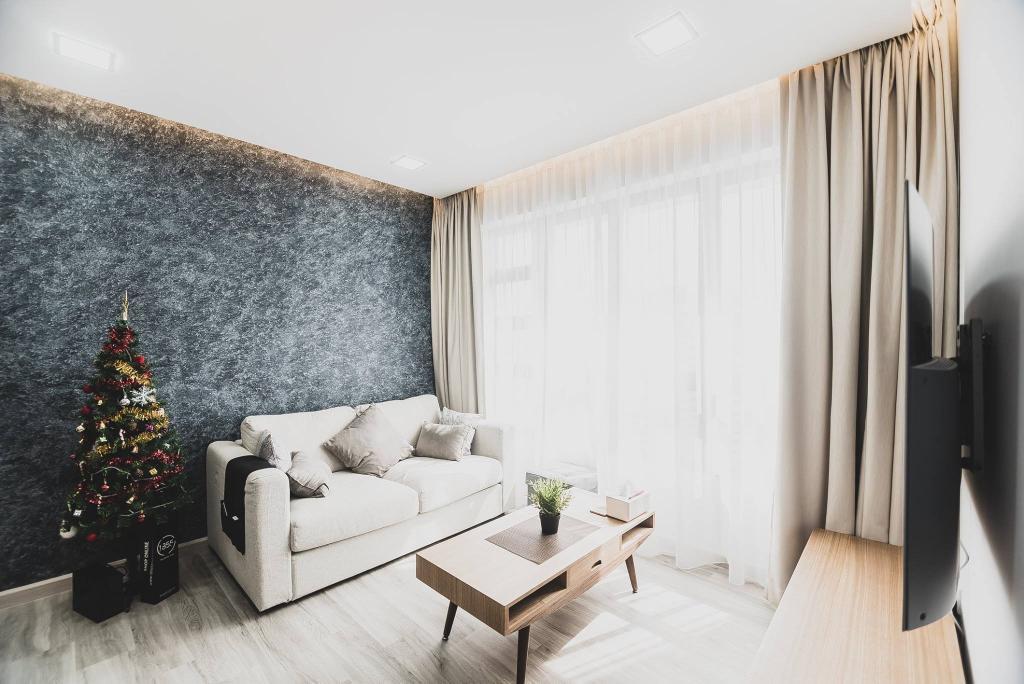 Modern, HDB, Living Room, Tampines Street 61, Interior Designer, Mr Designer Studio, Scandinavian