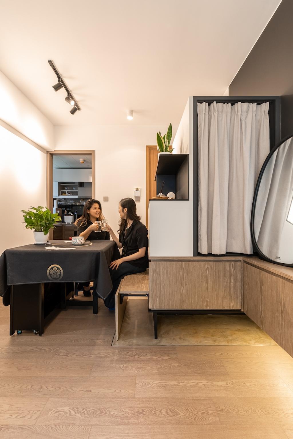 摩登, 私家樓, 飯廳, 海日灣1期, 室內設計師, MAD Studio Limited, 北歐