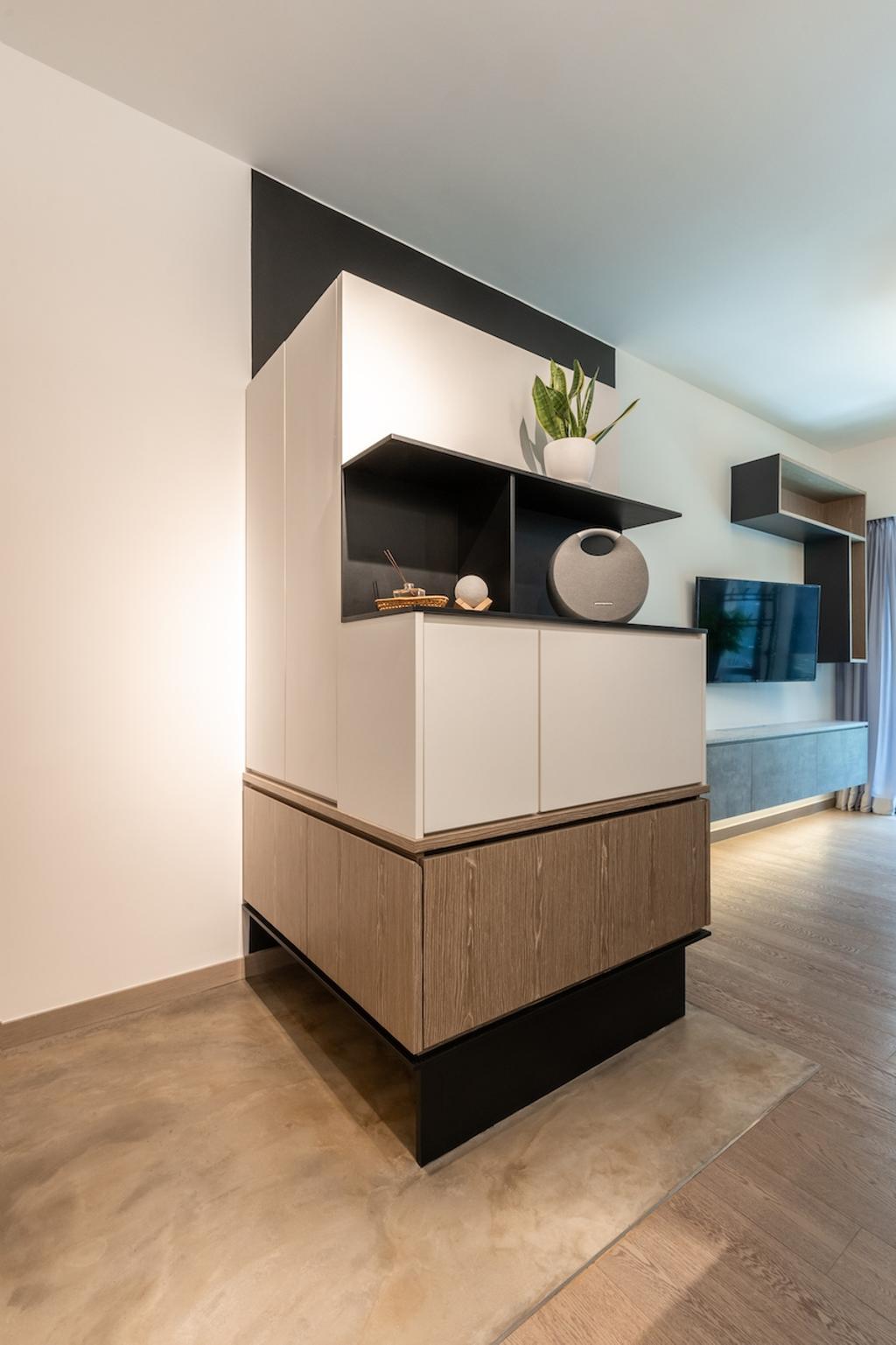摩登, 私家樓, 客廳, 海日灣1期, 室內設計師, MAD Studio Limited, 北歐