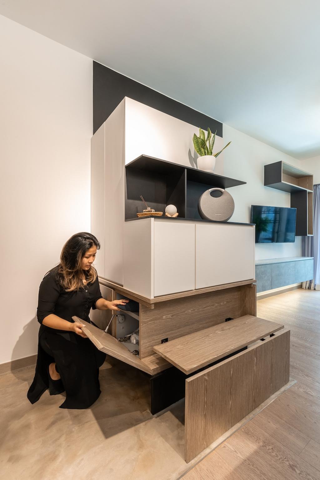 摩登, 私家樓, 海日灣1期, 室內設計師, MAD Studio Limited, 北歐