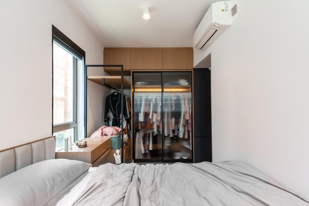 摩登, 私家樓, 睡房, 海日灣1期, 室內設計師, MAD Studio Limited, 北歐
