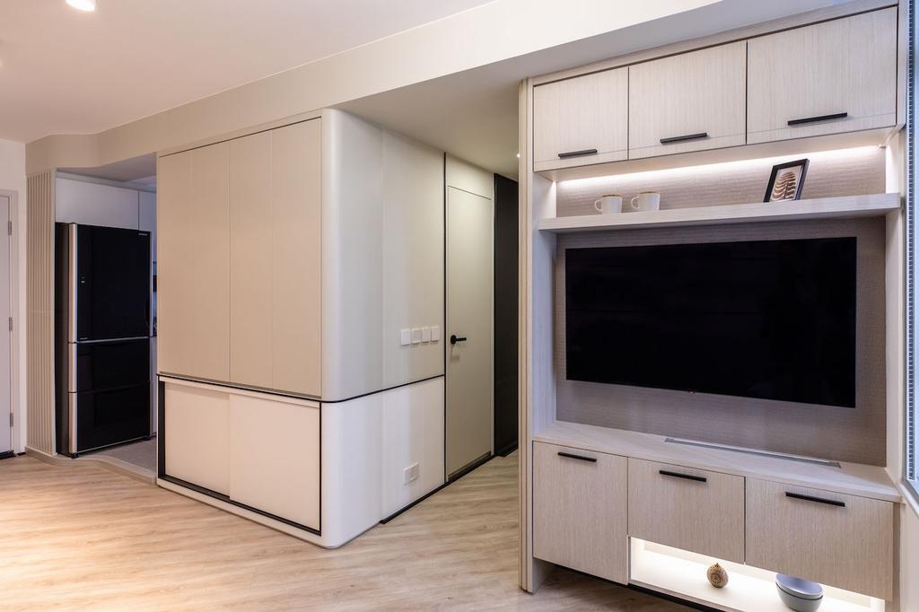 北歐, 公屋/居屋, 客廳, 凱樂苑, 室內設計師, MAD Studio Limited