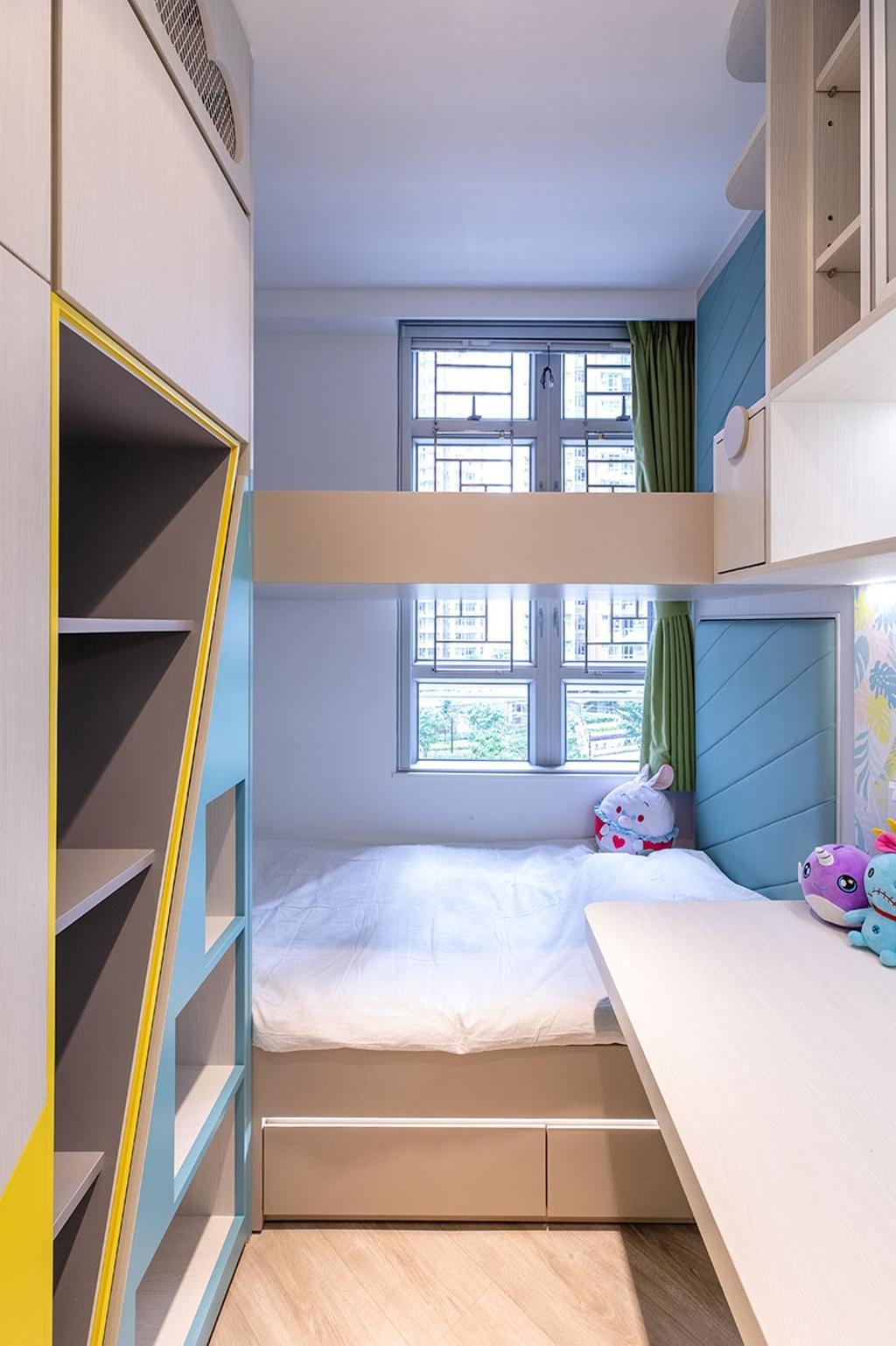 北歐, 公屋/居屋, 睡房, 凱樂苑, 室內設計師, MAD Studio Limited