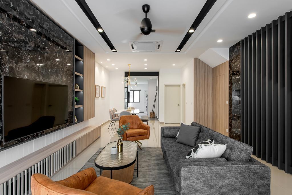 Modern, Landed, Monet Lily Residence, Interior Designer, Pocket Square