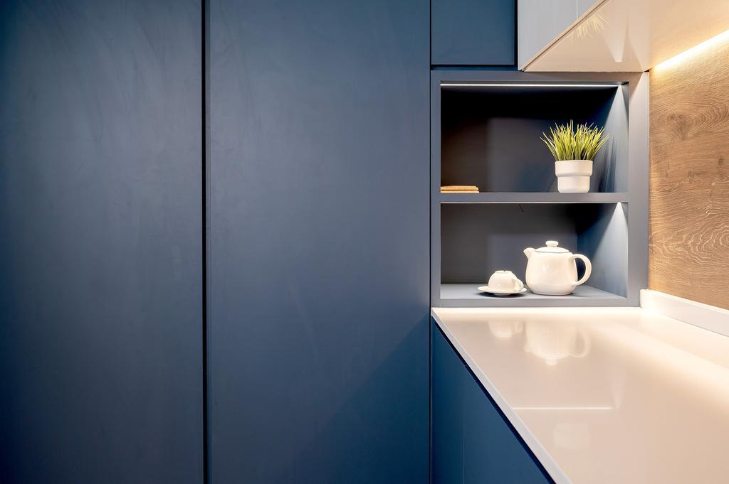 Scandinavian, HDB, Kitchen, Jurong East Street 24, Interior Designer, ELPIS Interior Design