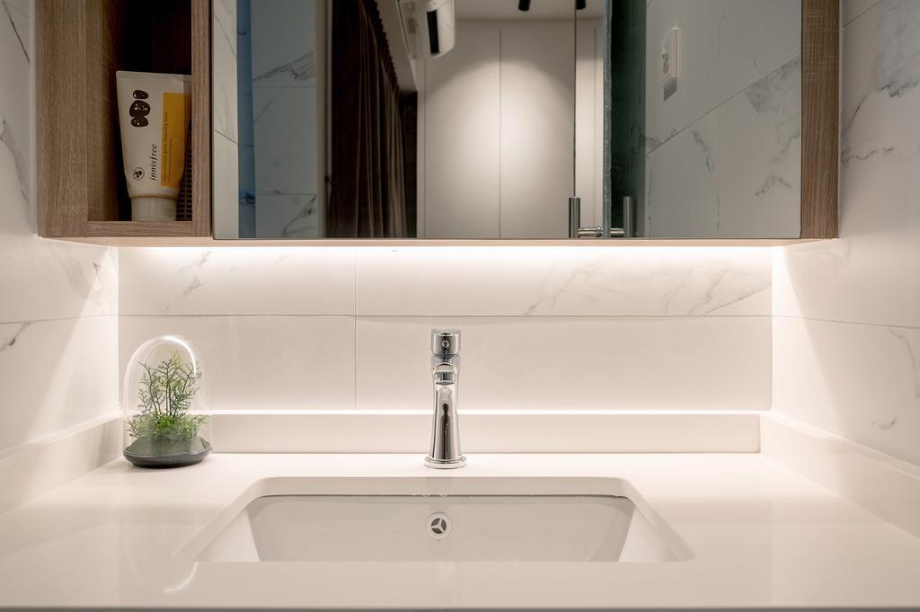 Scandinavian, HDB, Bathroom, Jurong East Street 24, Interior Designer, ELPIS Interior Design