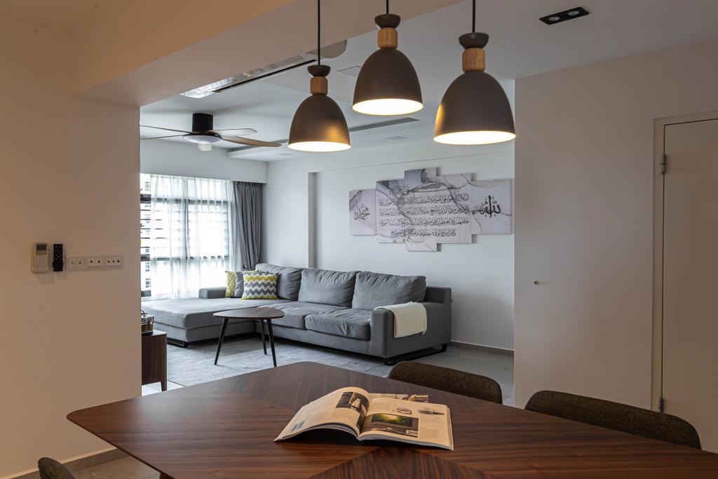 Contemporary, HDB, Living Room, Tampines, Interior Designer, Swiss Interior Design, Scandinavian