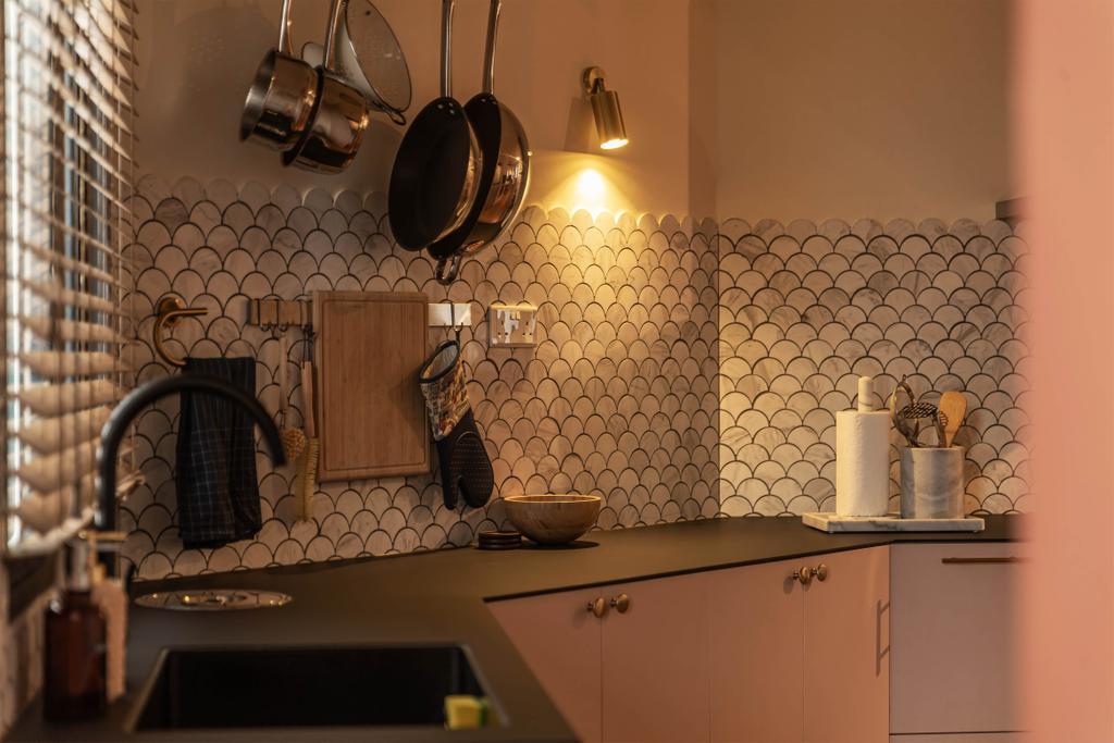 Eclectic, HDB, Kitchen, Choa Chu Kang, Interior Designer, Swiss Interior Design, Vintage