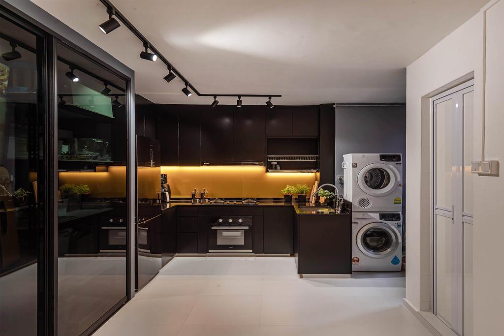 Contemporary, HDB, Kitchen, Potong Pasir Avenue 1, Interior Designer, Swiss Interior Design
