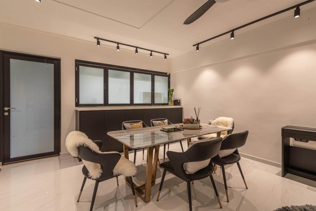 Contemporary, HDB, Dining Room, Potong Pasir Avenue 1, Interior Designer, Swiss Interior Design