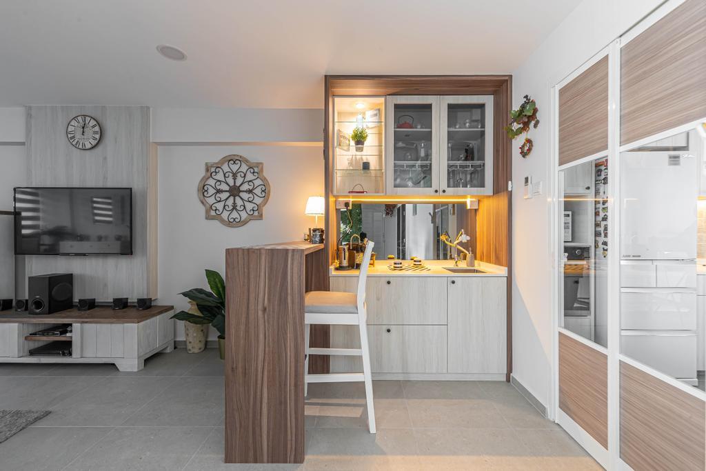 Scandinavian, HDB, Tampines, Interior Designer, Swiss Interior Design