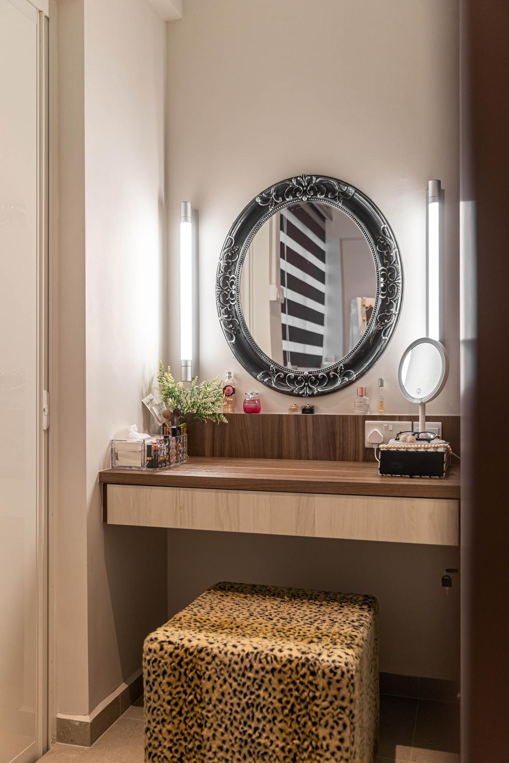 Scandinavian, HDB, Bedroom, Tampines, Interior Designer, Swiss Interior Design