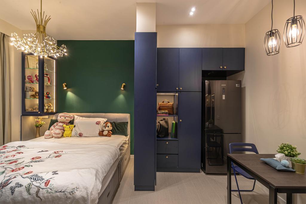 Contemporary, Condo, Bedroom, Roots @ Transit, Interior Designer, Swiss Interior Design