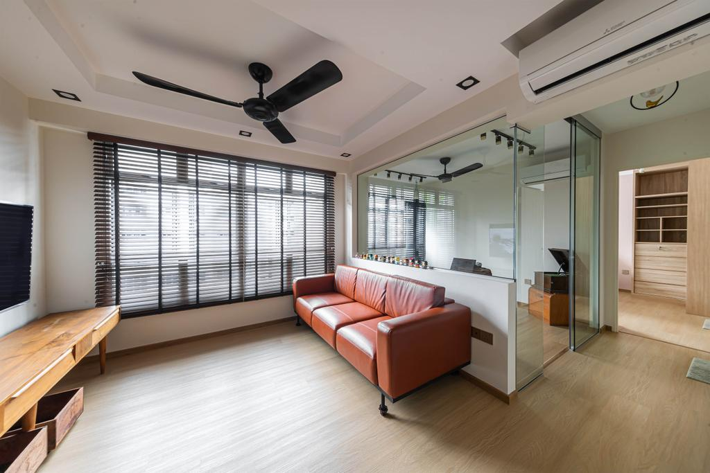 Modern, HDB, Living Room, Tampines, Interior Designer, Swiss Interior Design, Scandinavian
