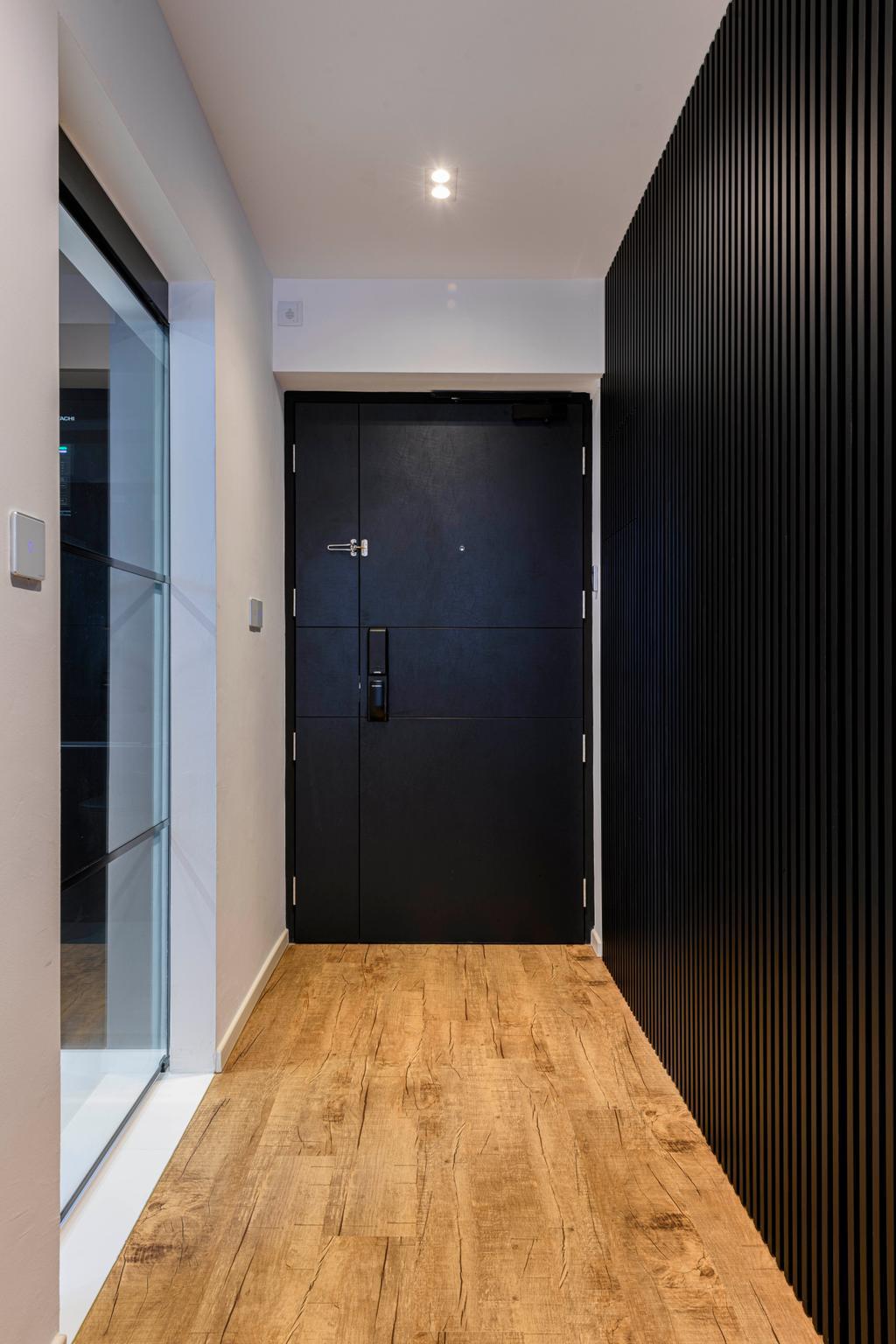 Contemporary, HDB, Living Room, Tanglin Halt Road, Interior Designer, Ataz Haus Interior Design, Door, Foyer, Entrance