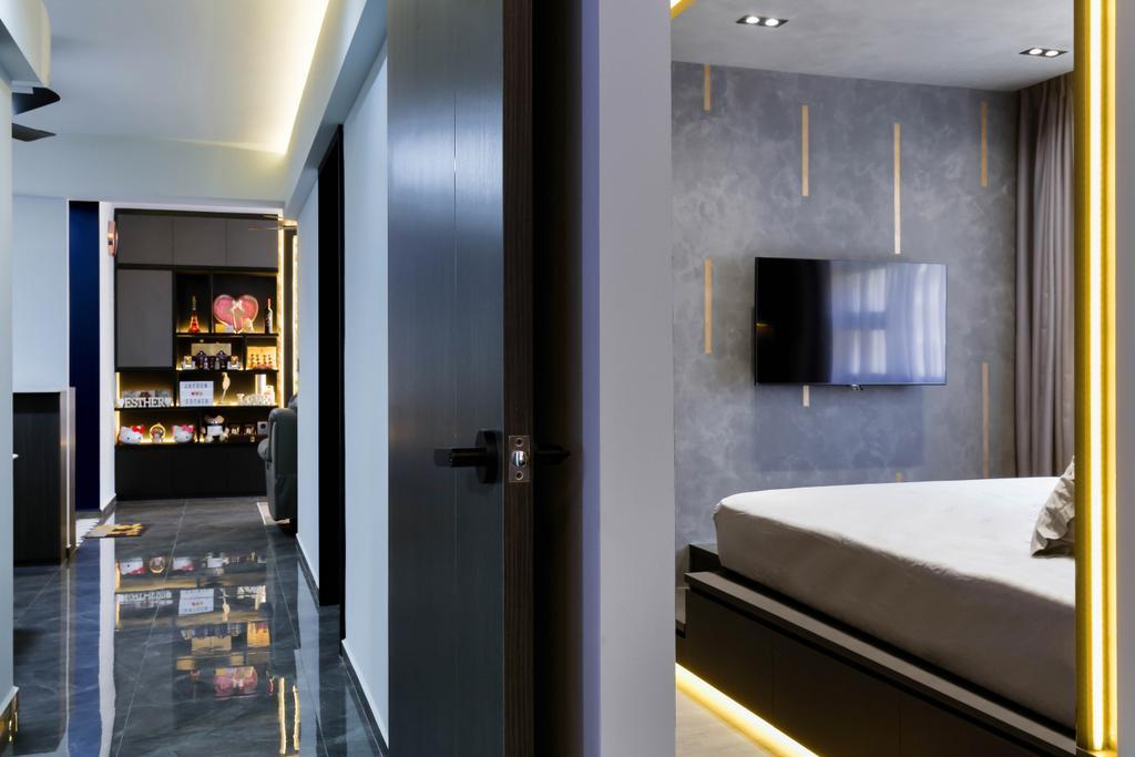 Modern, HDB, Bedroom, Bukit Batok Street 41, Interior Designer, Craftsmen Atelier, Contemporary