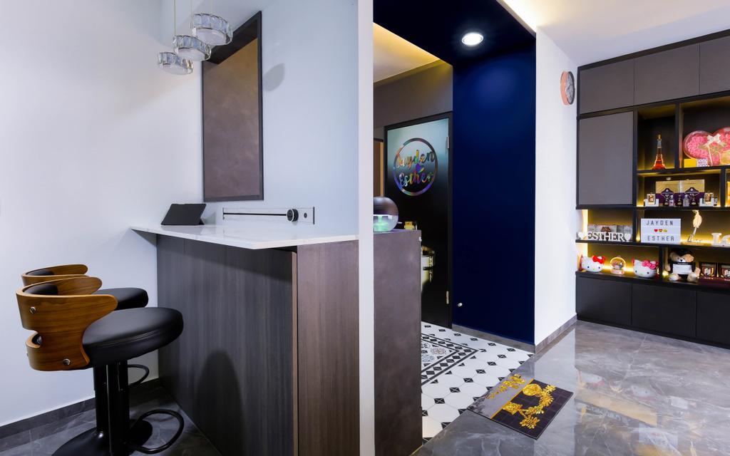 Modern, HDB, Living Room, Bukit Batok Street 41, Interior Designer, Craftsmen Atelier, Contemporary