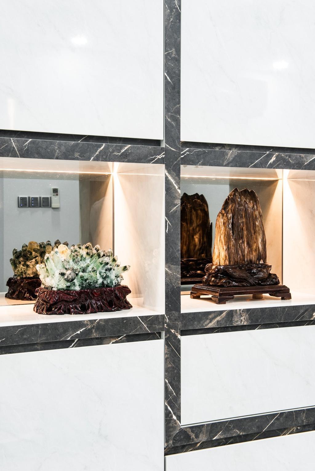 Modern, HDB, Living Room, Jalan Membina, Interior Designer, Mr Designer Studio, Contemporary
