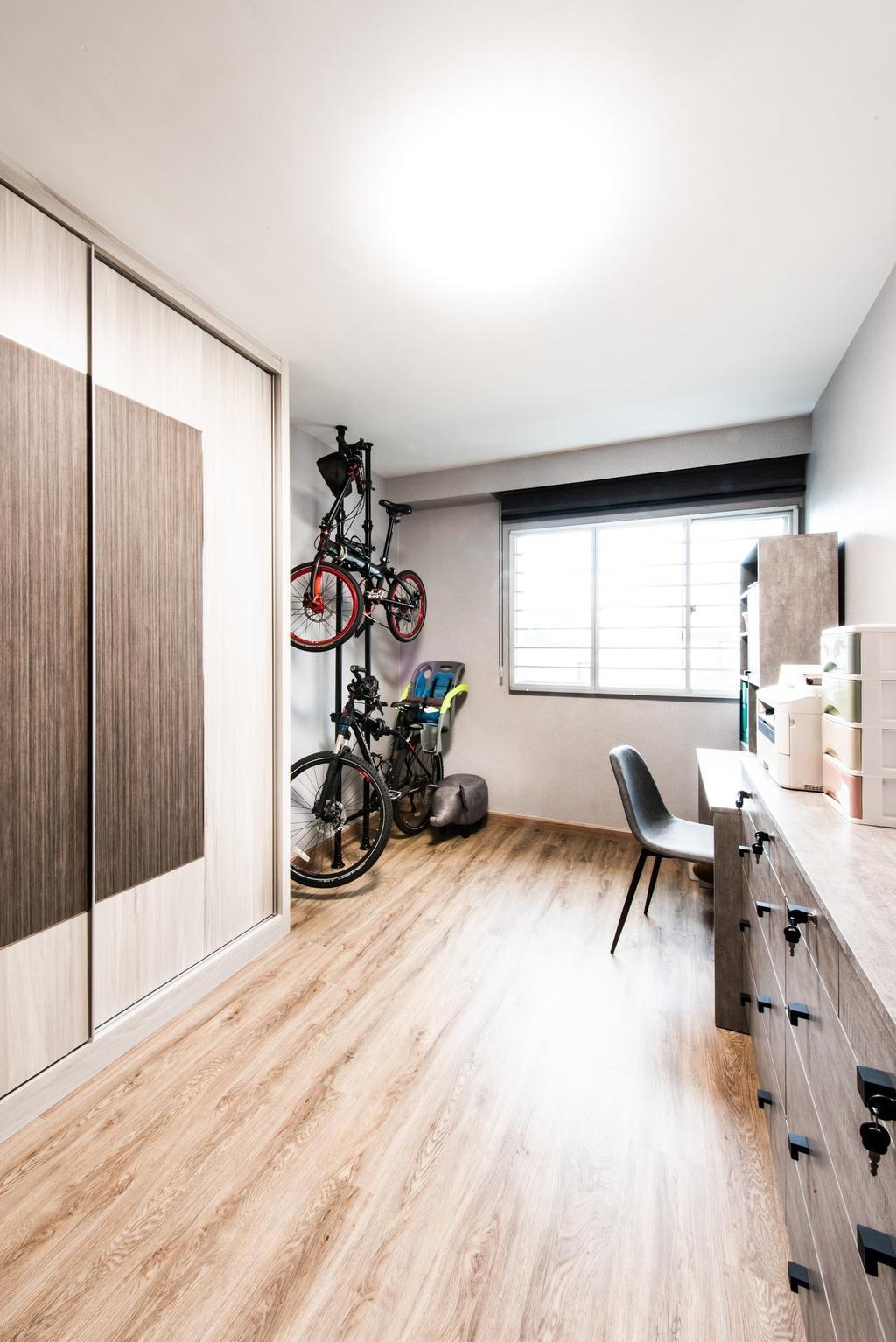 Modern, HDB, Study, Jalan Membina, Interior Designer, Mr Designer Studio, Contemporary
