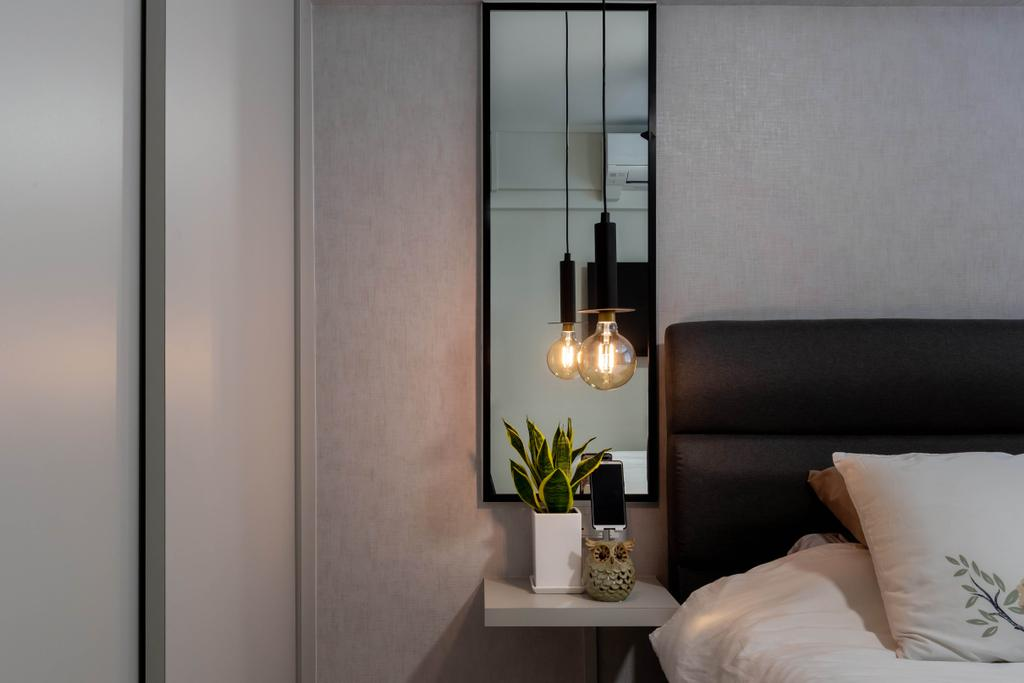 Contemporary, HDB, Bedroom, Lor 7 Toa Payoh, Interior Designer, Noble Interior Design, Scandinavian