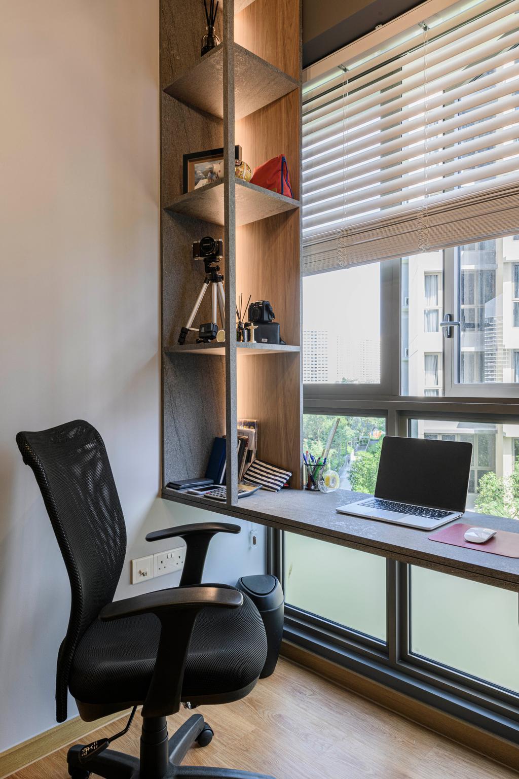 Contemporary, Condo, Study, Rivercove Residences, Interior Designer, Design Story