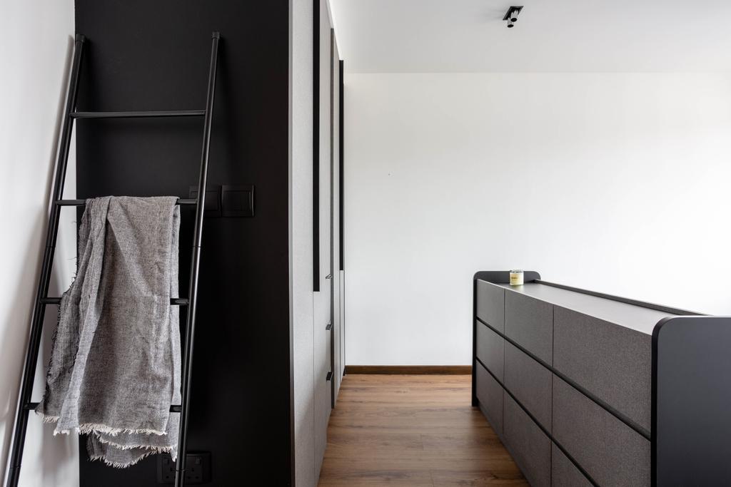 Contemporary, HDB, Bedroom, Clementi Avenue 3, Interior Designer, Habit