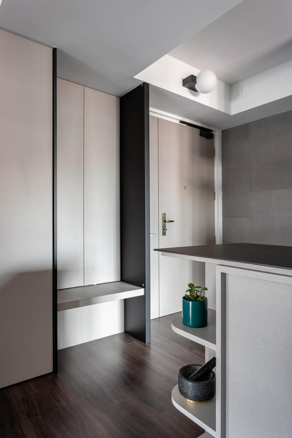Contemporary, HDB, Clementi Avenue 3, Interior Designer, Habit